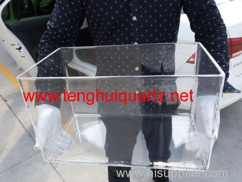 quartz square cylinder quartz product