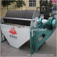 high intensity wet electromagnetic separator for non-mag minerals cleaning