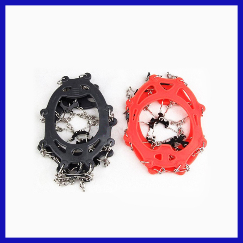 2013 Antiskid ICE CRAMPONS Steel Shoes for Rock Climbing