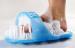 Easy Feet Foot Scrubber Bath shower scrub Brush Massager Pumice AS Seen on TV