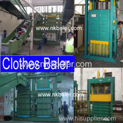 second hand clothes hydraulic press machine