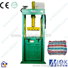 Golden sales team Used Rag hydraulic compress machine