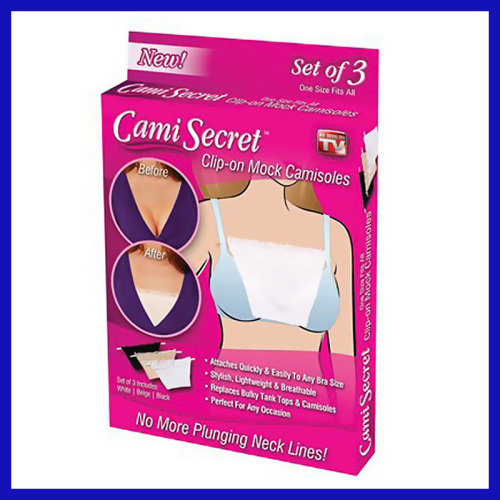 CAMI SECRET/TOP SECRET/SECRET WISH AS SEEN ON TV