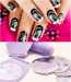 Salon Express/Nail Art Stamp Stamping Kit Manicure Design Polish As Seen On TV