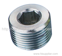 NPT male hollow hex plug 4NN