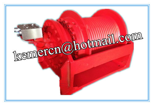 high speed hydraulic winch with Rexroth A2f series motor