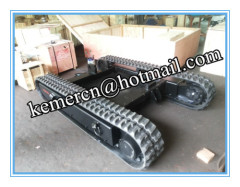 Rubbder crawler track undercarriage