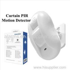 Exclusive home security intruder detectors wireless Curtain PIR motion sensor for Chuango GSM Alarm System G5/ B11/ G3