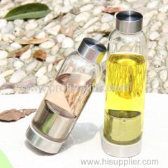Promot gift car waterbottle sport bottle with stainless steel cap