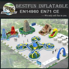 Cheap Giant Aqua Inflatable Water Park