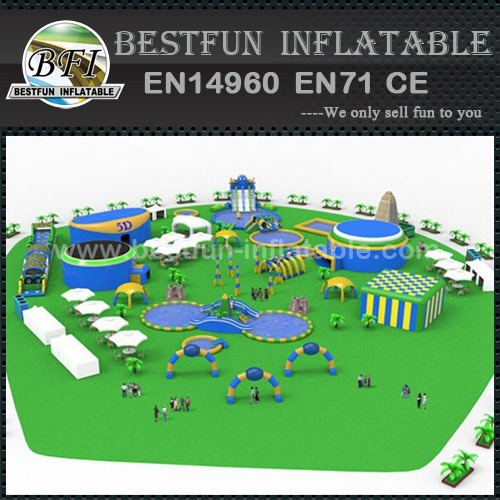 Portable move inflatable Water Park
