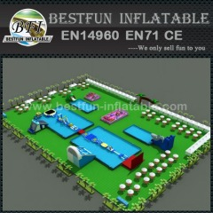 Awsome inflatable water park