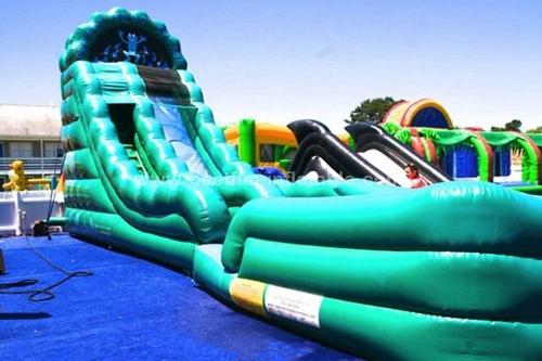 Amusement Park Commercial Cheap Water Inflatable Slides