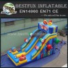Candy park inflatable snow slide toboggan slide