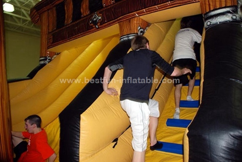 Classic Pirate Ship Inflatable Slide