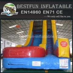 Funny and safe inflatable slide