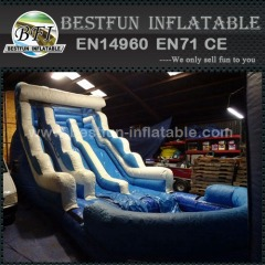 Tsunami inflatable water slide party rentals