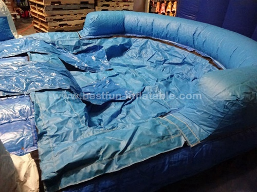 Monster Wave Inflatable Water Slide