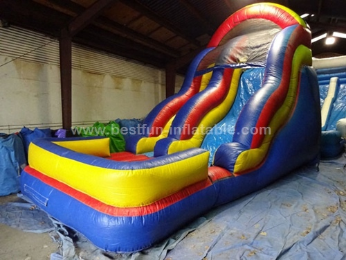 Popular Brown Inflatable Slide