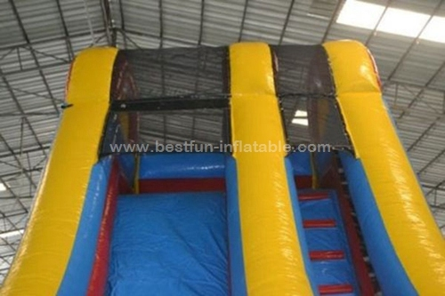 Professional supplier inflatable jumping slide