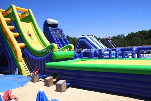 Sale high quality super inflatable slide