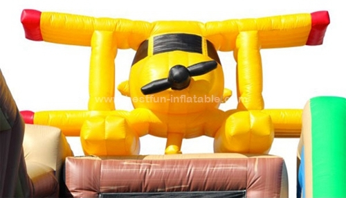 The Lost Town Adventure Inflatable Slide