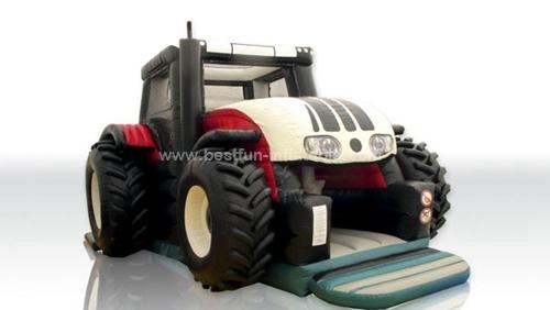 Tractor Slip N Dip Inflatable Dry Slide