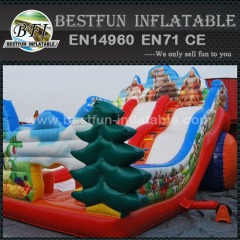 Dragon Slayer Inflatable Slide