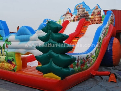Wyrmslayer inflatable slide for fun