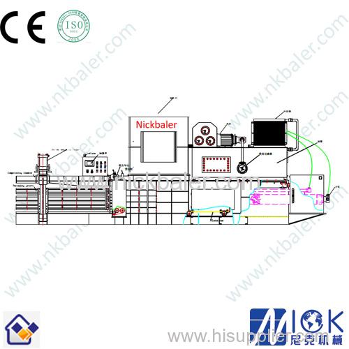 hydraulic transmission cardboard hydraulic press machine