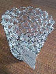 Acrylic candle holders handmade Beaded votive Tealight