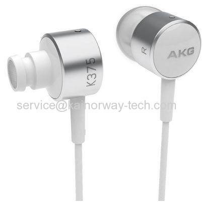 AKG K375 Premium High Performance In-Ear Stereo Headphones With In-line Microphone and Remote