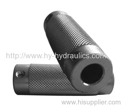 Carbon Steel Hydraulic Adapter By CNC production
