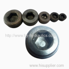 BSPT male hollow hex Plug 4TN-GM