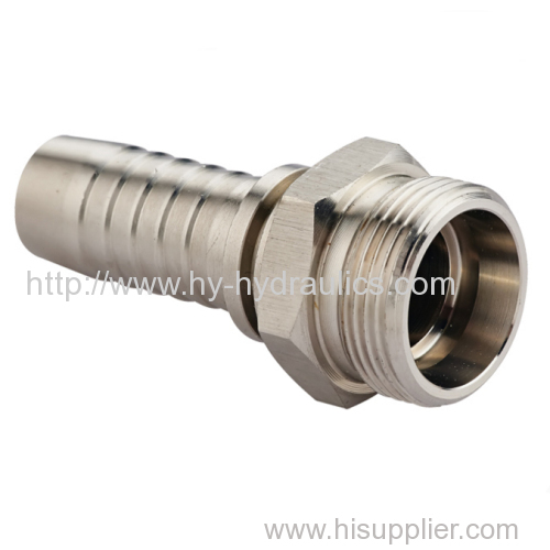 metric male 24 cone seat Heavy type DIN 3861hydraulic tube compression fittings