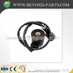 Komatsu spare parts PC200-6 6d95 excavator solenoid valve coil 20y-60-11674