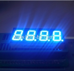"4 digit 0.4"" blue 7 segment; 4 digit 0.4inch blue led display"