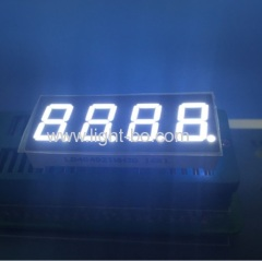 Four Digit 0.4inch ultra white seven segment led display common anode for digital indicator