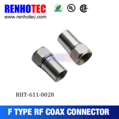 f series type connector METAL CONNECTOR f series type MALE TWIST connector