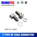 RF connector F connector crimp plug for RG58