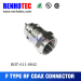 male plug F seriesemale type wire connector metal connector with CE RoHS high quality male crimp wire f plug connector