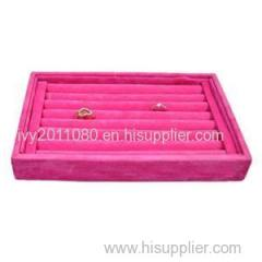 Jewelry Display Velvet Tray