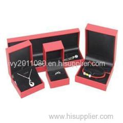 5 Pieces Plastic Jewelry Box
