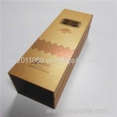 Matte Gold Paper Box