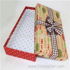 Rectanglar Paper Gift Box