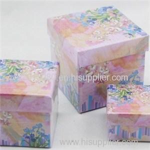 Three Sizes Square Paper Box
