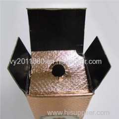 Single Wine Bottle Paper Box