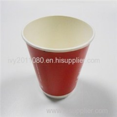 Glossy Hot Insulated Paper Cups