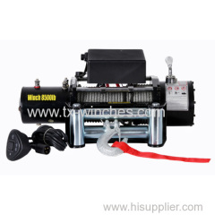 SUV 8000lb electric winch