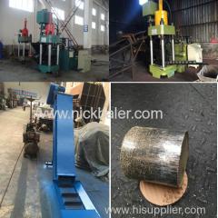Automatic Scrap hydraulic Briquetting Press machine